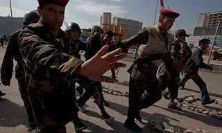 Das Militär ist Fotografenscheu