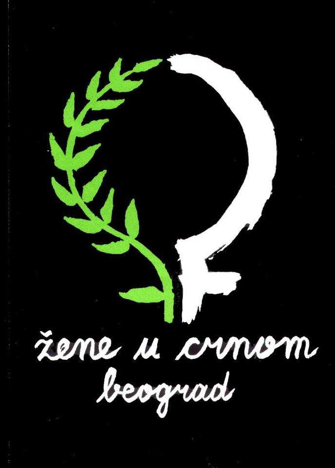 Women in Black Serbia logo