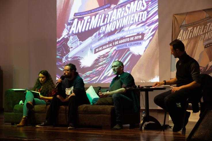 Openning plenary at the antimilitarism in movement conference