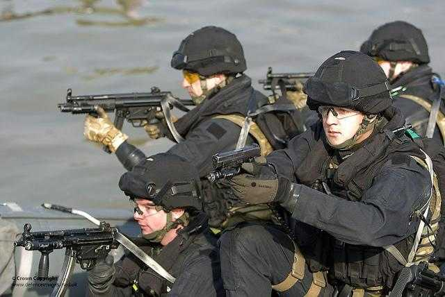 UK firearms police training in 2012