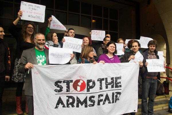 DSEI previous protesters found not guilty