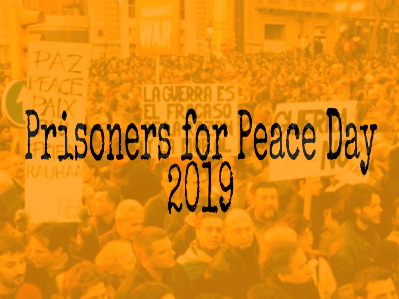 Prisoners for Peace Day 2019