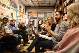 Public forum on countering youth militarisation at Housmans Bookshop in London