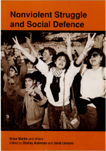 Cover of Nonviolent Struggle and Social Defence