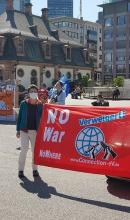 International CO Day action in Frankfurt