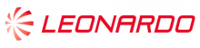 The Leonardo company logo in red.