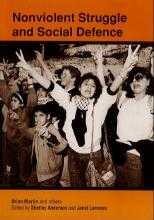 The cover of Nonviolent Struggle and Social Defence