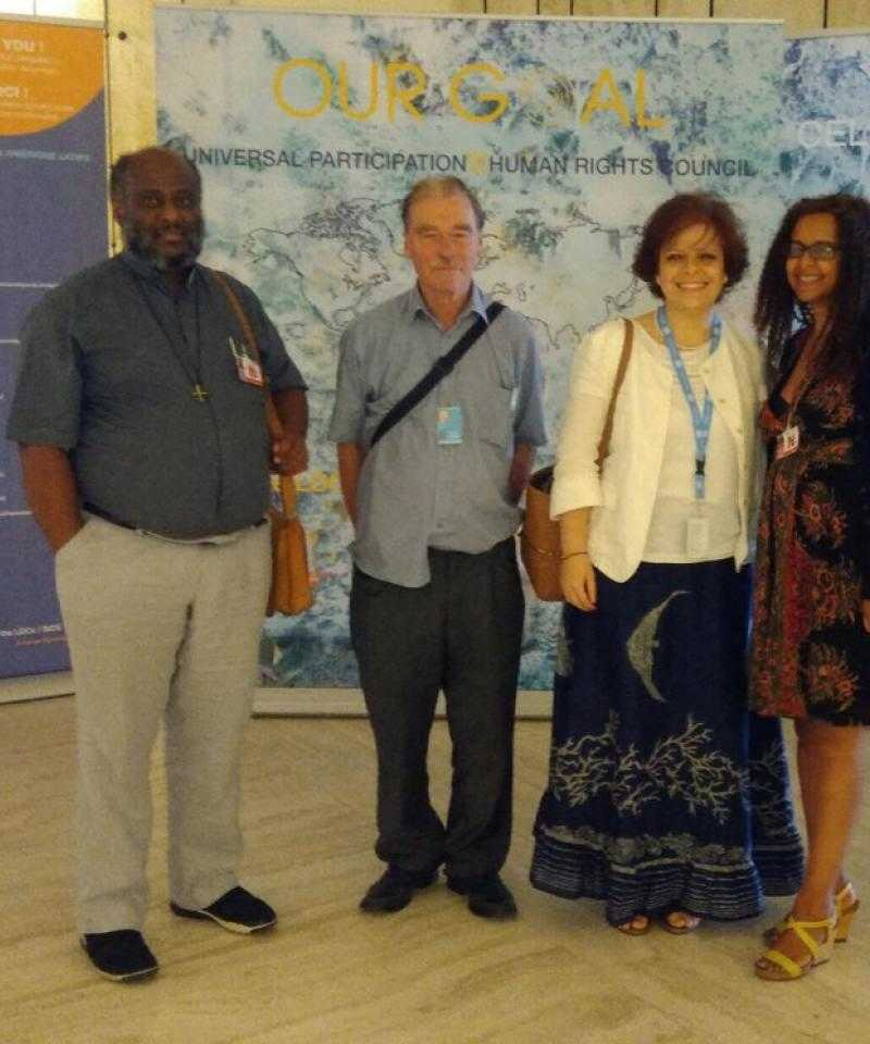 IFOR members and speakers at the side event