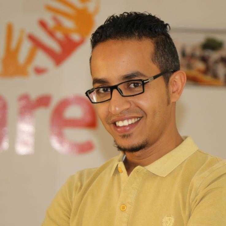 Abdulhakim Al-Ansi, Assistant en communication, CARE Yémen