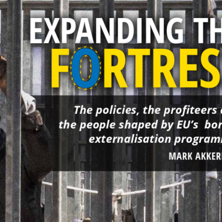 The front cover of the Expanding The Fortress report