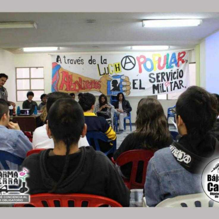 Conscientious Objectors' meeting in Colombia