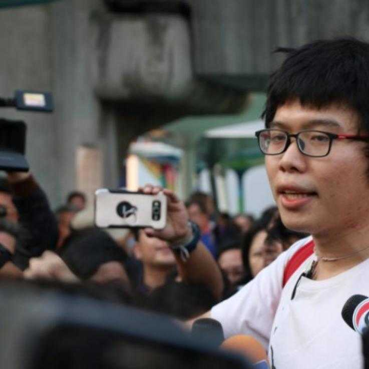 Conscientious objector Netiwit Chotiphatphaisal