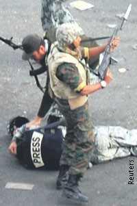 Armee und AktivistInnen in Ägypten